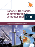 Robotics Electronics Communication and Computer Engineering