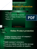 Online Product Pomotion