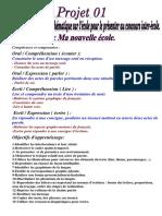 Les fiches du projet 01  3ème AP.pdf