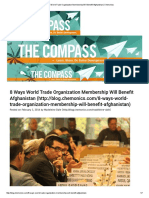 8 Ways World Trade Organization Membership Will Benefit Afghanistan _ Chemonics
