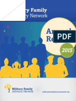 Military Family Advisory Network Annual Report 2015
