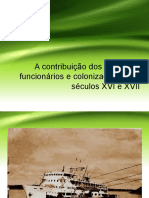 A Contribuição Dos Cronistas - Culturas e Amazônias