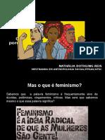 Apresentação Feminismos