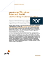Internal Audit Financial Services Risk