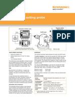 Data Sheet Renishaw TS27R Toolsetting Probe