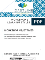 Workshop 1 - Learning Styles