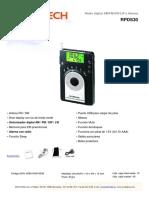 Sunstech RPDS30 Black - Spec