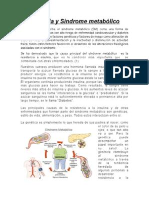 dieta para sindrome metabolico resistencia insulina pdf