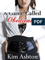 A Game Called Obedience (Loving Femdom Erotic Romance, BDSM Erotica) - Kim Ashton