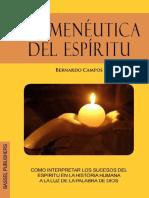 Hermeneutica Del Espíritu