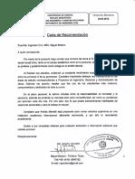 Carta Recomendacion Academica