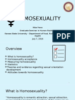 Gradsem Presentation 2 HOMOSEXUALITY