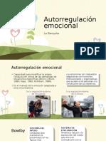 Autorregulación emocional