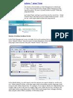 Partisi Untuk Windows 7 Atau Vista by Oget Sincan