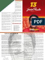 Propostas de João Paulo para o Recife