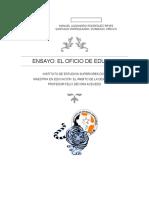 EL OFICIO DE ENSEÑAR, ENSAYO.docx
