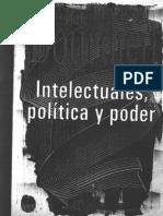 Bourdieu P - Intelectuales, Politica y Poder