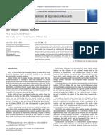 Cinar&Yaman-EJOR2011-The Vendor Location Problem (1)