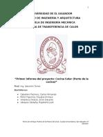 1er Informe Cocina Solar (Terminado) Rigo Cerote