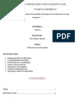 ELABORACION DE JABON LIQUIDO