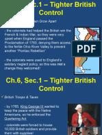 ch 6 sec 1 tighter british control