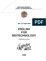 Biotech English Course1