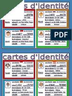 Cartes d'Identité