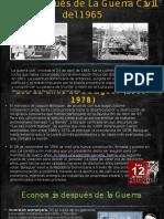 Vida Después de La Guerra Civil Del 1965