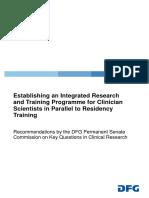 Empfehlungen Sgkf Clinician Scientists 1015