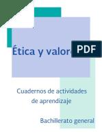 Ética y Valores II (Cuaderno de Trabajo)