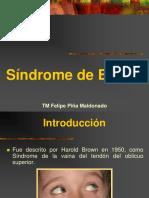 34.- Síndrome de Brown