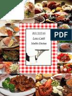 Livro de Receitas Multi Dietas