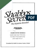 Shabbos Secrets