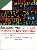 AUMONT Jacques Las Teorias de Los Cineastas