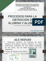 OBTENCION DE ÁLUMINA Y ALUMINIO.pptx