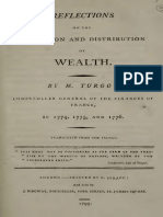 Anne Robert Jacques Turgot - Reflections on the Formation and Distribution of Wealth