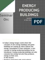 Energy Producing Buildings
