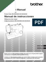 Brothet Dewing Machine Manual
