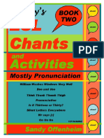 Sandy Chants Book 2 Mostly Pronunciation Sample Pages