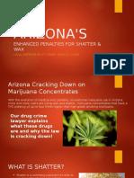 Arizona's Enhanced Penalties for Shatter and Wax