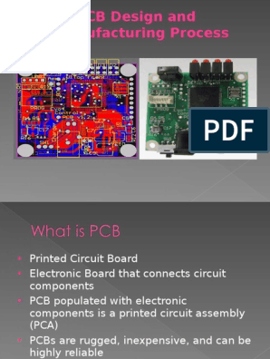 PCB ppt | Printed Circuit Board | Electronic Engineering