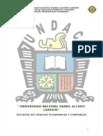 Informe Final de Practicas Pre Profesionales en entidad publica