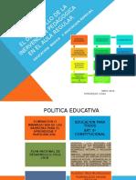 El Desarrollo de La Inervencion Pedagogica en El aula regular