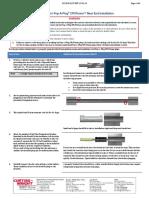 CPI Plug Plugging Procedure