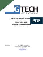Detaljne instrukcije za LPG sistem