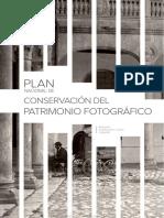 PLAN NACIONAL DE CONSERVACIÓN DEL PATRIMONIO FOTOGRÁFICO