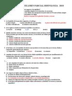 Tercer Examen Parcial Histologia 2010