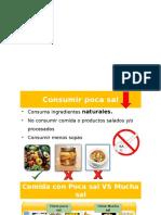 Alimentos Poca Sal