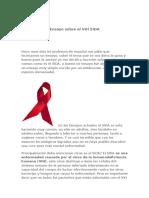 Ensayo sobre el VIH SIDA
