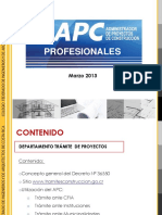 Presentacion Apc- Marzo 2013